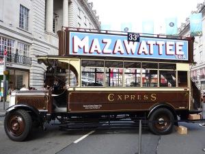 Regent Street Bus Cavalcade
